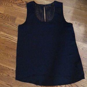 Banana Republic black blouse size medium